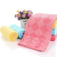 100% Cotton Soft High Absorbent Washcloths/Face Hand Towel Spa Gym 13''x29'' v