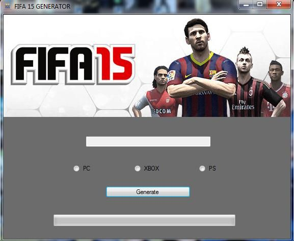 Fifa 15 Keygen Hack Generator Tool