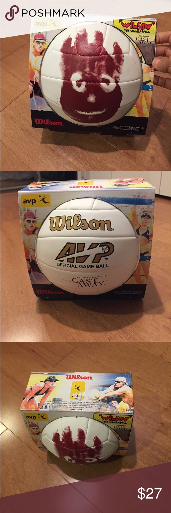 WISON THE VOLLEYBALL FROM CASTAWAY Wilson the volleyball from the movie Castaway! New in package! Wilson Other