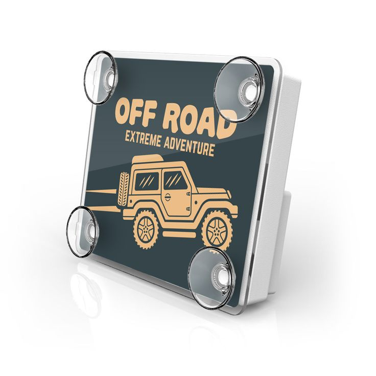 Large Toll Pass / EZ Pass / Transponder Holder - Off Road 3 from AutoBoxClub