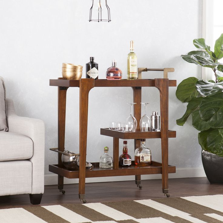 Let's go to the bar... cart. I can make an argument that, during the holidays, it's just as festive to buy stuff for yourself, especially if it makes entertaining easier. So, here's that argument... specifically, for grabbing a cool new bar cart for your Nashville home.