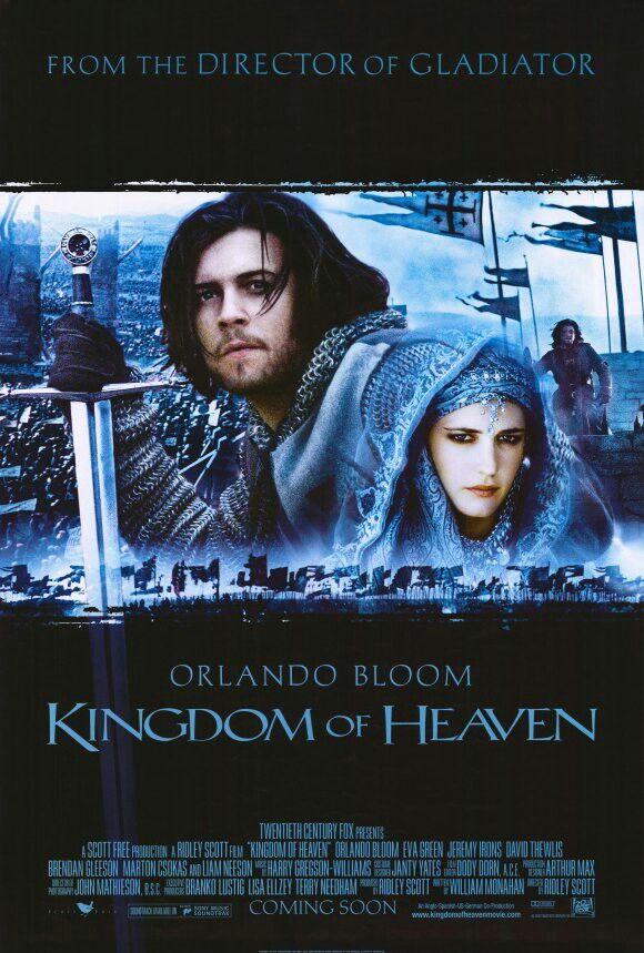 2005 - El reino de los cielos (Kingdom of Heaven) - Ridley Scott. Me gustó esta peli