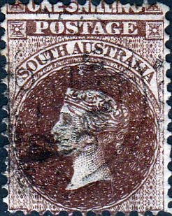 South Australia 1876 Queen Victoria SG 129 Good Used SG 129 Scott 72 Other Commonwealth stamps for sale here