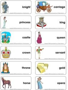 knights and princesses theme for kindergarten