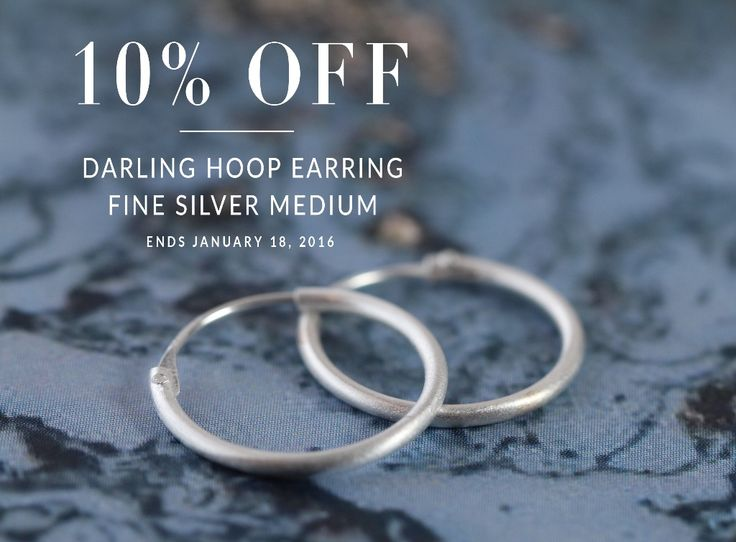 Be a 90's darling with these hvisk.com hoops.   10% off ends january 18th.  http://hvi.sk/r/3XxZ