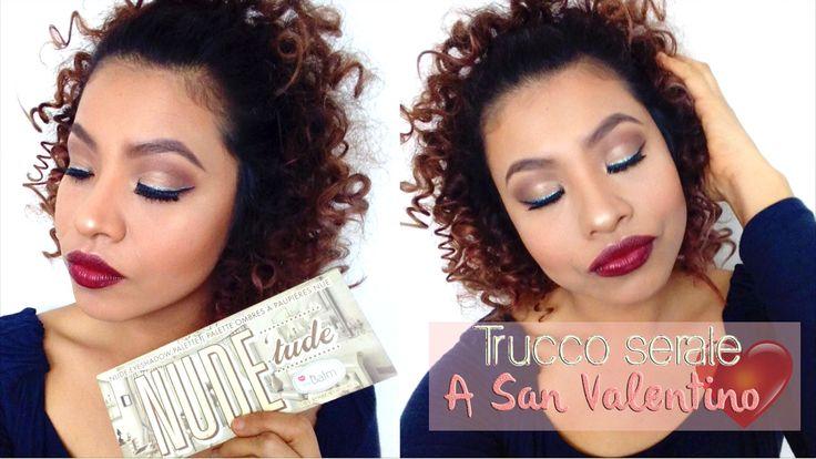 Makeup party San Valentine's  Trucco serale per San Valentino. #nudetude #thebalm #mac