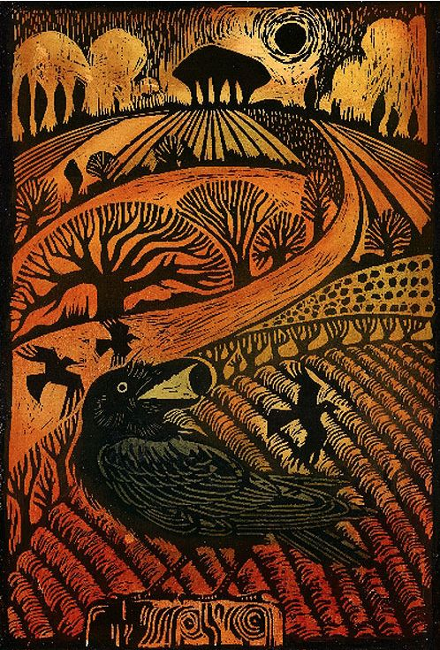 Rook by Ian MacCullock Printmaking