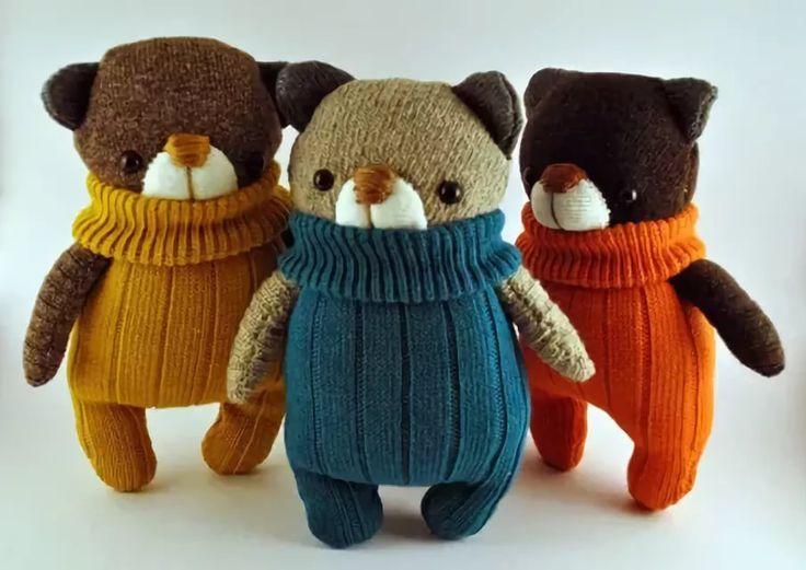 игрушки из носков своими руками: 13 тыс изображений найдено в Яндекс.Картинках