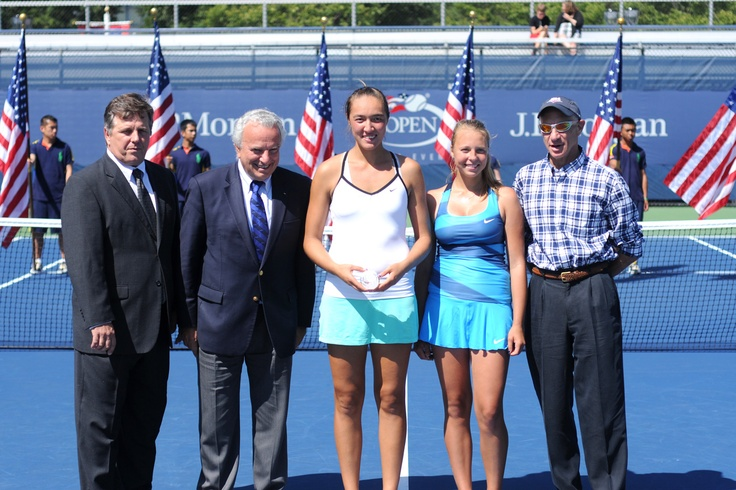 Anett Kontaveit (EST)[12] takes second in the Junior Girls losing to Samantha Crawford (USA) in straight sets in the Final. - Mike Lawrence/USTA