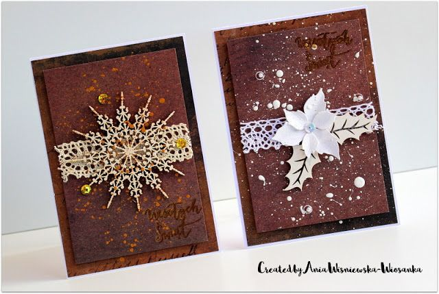 Gingerbread - like Xmas cards