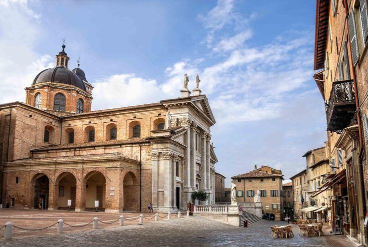 Urbino, Le Marche, UNESCO World Heritage Site of Italy