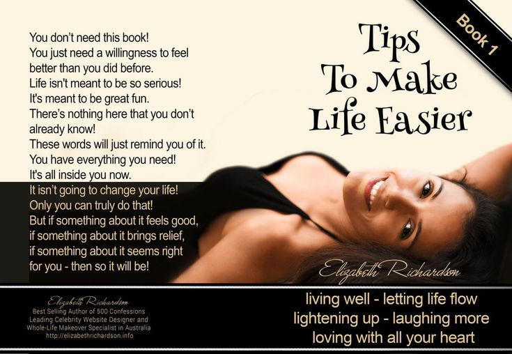 Tips To Make Life Easier - BOOK