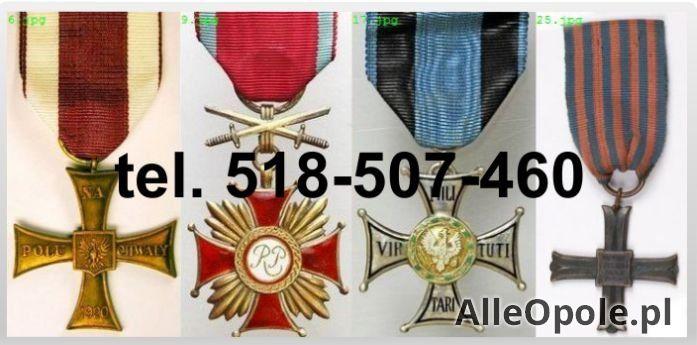 KUPIE stare ordery,medale,odznaki,odznaczenia,orzełki (Opole)