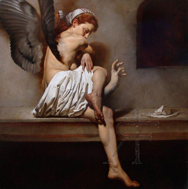 Roberto Ferri pintura barroca simbolista controvertida 2