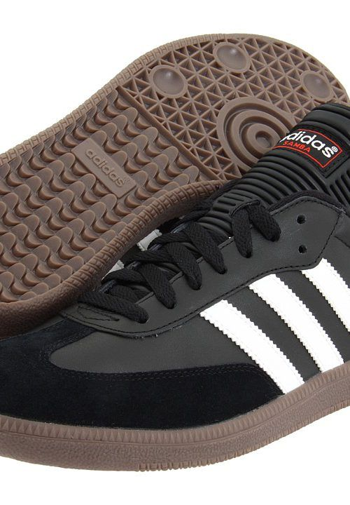 adidas Samba Classic (Black/White) Men's Soccer Shoes - adidas, Samba Classic, 034563, Men's Athletic Performance Shoes Cleated Cleated, Soccer Indoor, Soccer, Athletic, Footwear, Shoes, Gift - Outfit Ideas And Street Style 2017