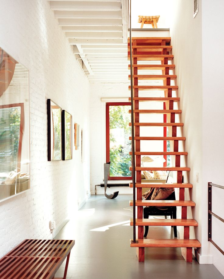 Concepts New York Manhattan Harlem Ryall Residence Hallway Staircase