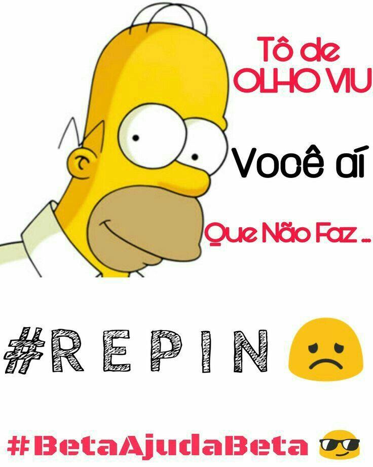 #Repin não triste.  Sorriso