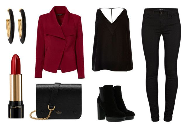 Red love by maria-belen on Polyvore featuring River Island, Greylin, J Brand, Hogan, Mulberry, Chico's and Lancôme