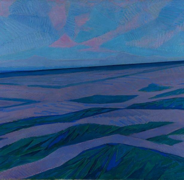 Duinlandschap, Piet Mondriaan, 1911.