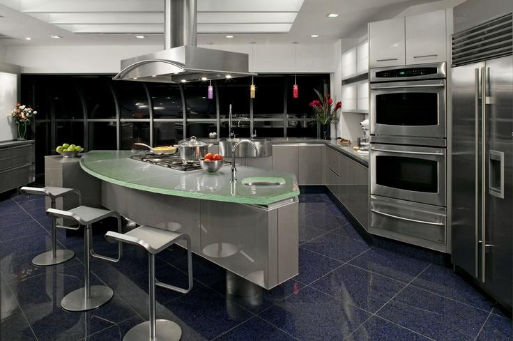 Awesome The Ritz Carlton Residences, Los Angeles, California. Glass CountertopsCustom  ...