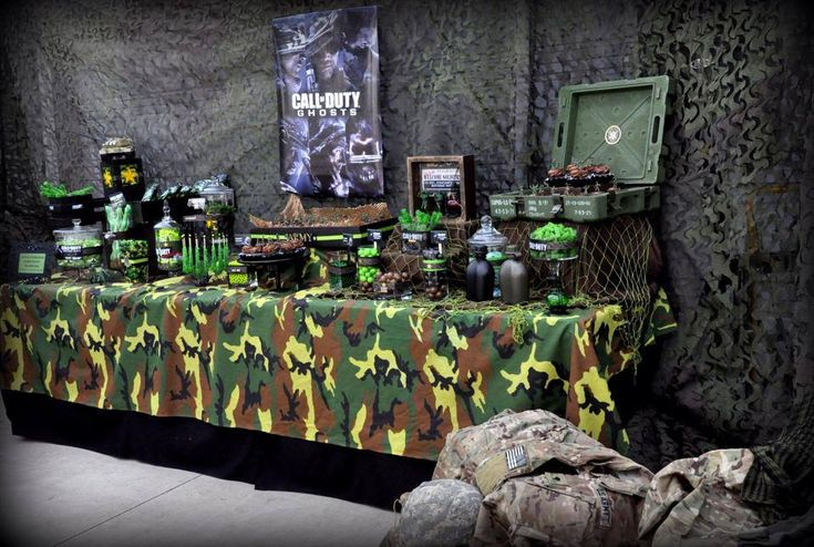 army camouflage birthday party supplies