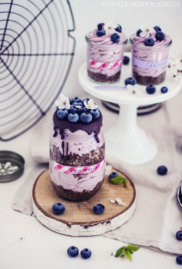 butiksofie: Berry Cheesecake in pimped glasses and Easter Give Away
