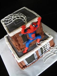Custom Cakes by Julie: Spiderman Cake