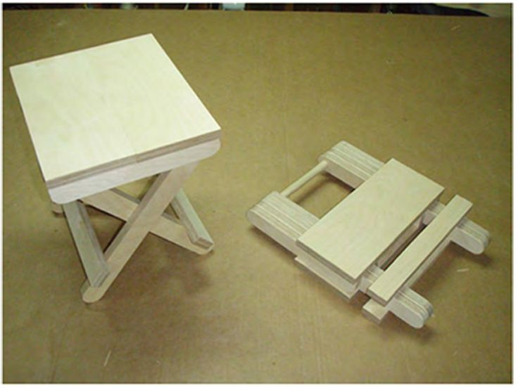 if the stool is going to be kept indoors simply rub all the pieces with a