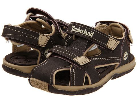 Timberland Kids Mad River Closed-Toe Sandal (Infant/Toddler) Brown/Tan - Zappos.com Free Shipping BOTH Ways