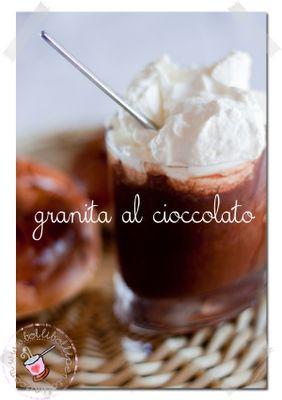 la granita siciliana al cioccolato