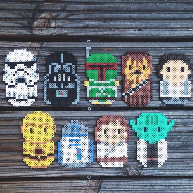 Star Wars hama beads by frausvensson
