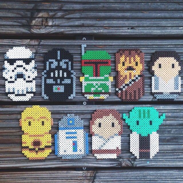 Star Wars hama beads by frausvensson