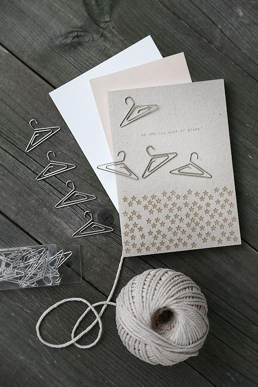 Hanger paper clips