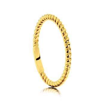 Perfect addition to your ring stack!  9ct Yellow Gold Dress Ring Showcase Jewellers