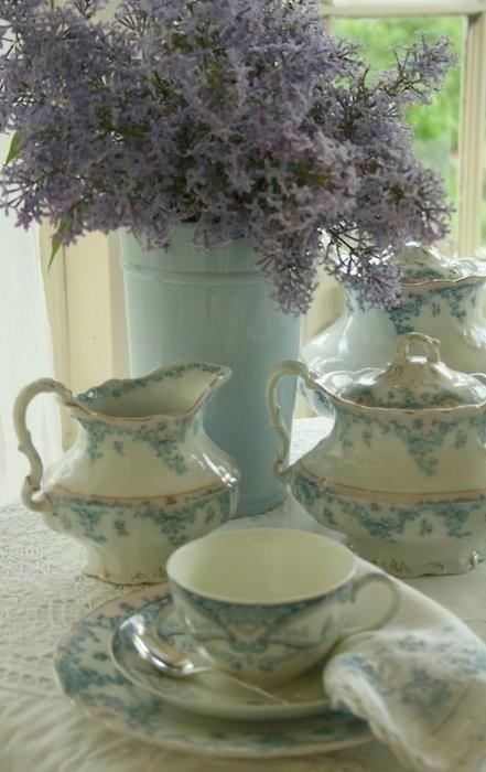 Lavender & tea