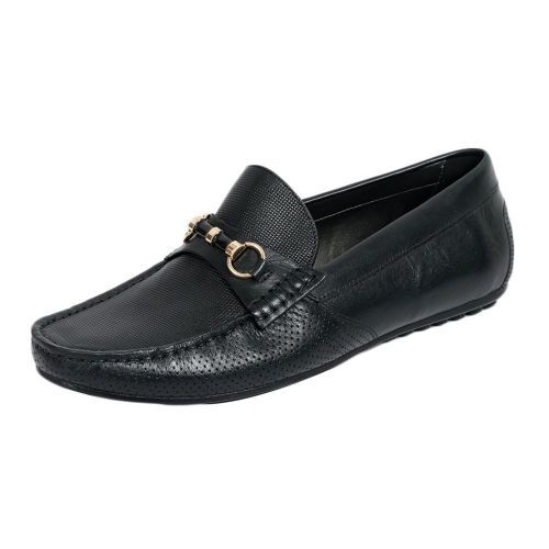 Buy! buy! Rossobrunello Black Loafer MS-2612 ₹6,499 — India  @ http://www.rossobrunello.com/men/loafers/ms-2612-479 Brand: ROSSO-BRUNELLO Product Code: MS-2612/BLACK Availability: In Stock