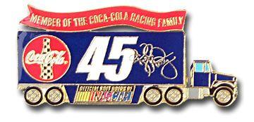 Kyle Petty #45 Trailer Pin