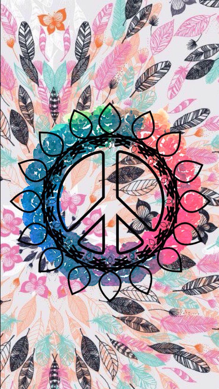 Peace Sign Wallpaper For Bedroom 17 Best Ideas About Hippie Wallpaper On Pinterest Kawaii