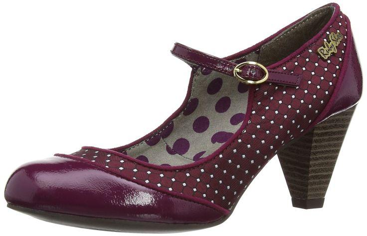 Ruby Shoo Womens Megan Court Shoes: Amazon.co.uk: Shoes & Bags