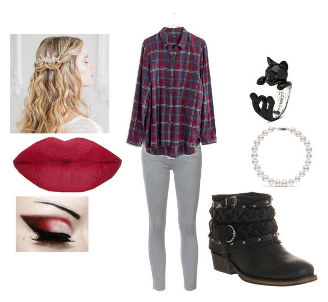 """""""clothes 236"""" by bellskids on Polyvore featuring Mother, Office and Madewell"""