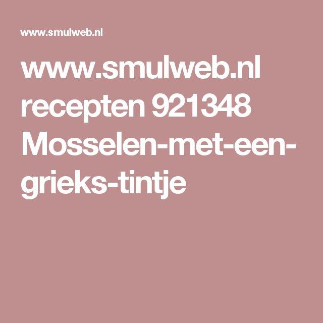 www.smulweb.nl recepten 921348 Mosselen-met-een-grieks-tintje