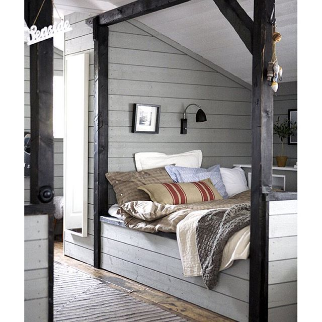 Gray Shiplap Walls Country House Interior Home Home Decor