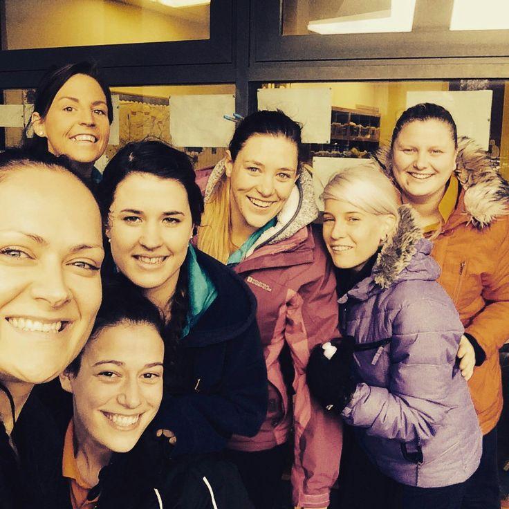 Happy staff in Leopardstown, Dublin!