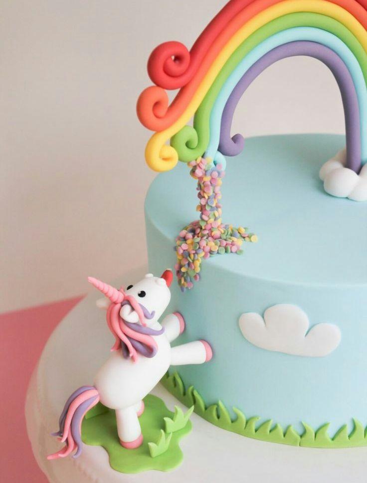 Unicorn Cake 💗🦄