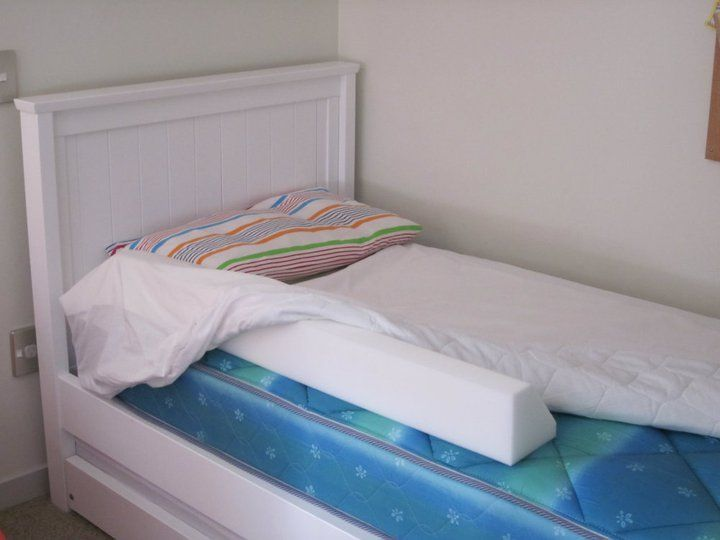s your little one moving to a BIG BED soon? The Big Bed Bumper is a long foam wedge that fits securely under a fitted sheet. A great alternative to the traditional bed rails/guards.