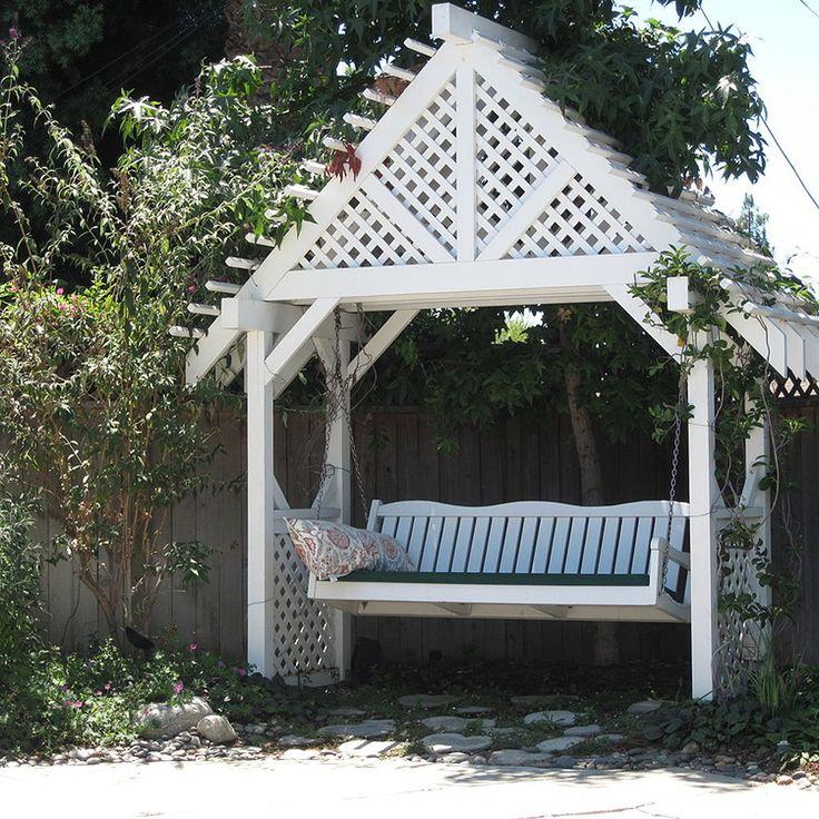 Best 25+ Arbor swing ideas on Pinterest | Pergola swing ...