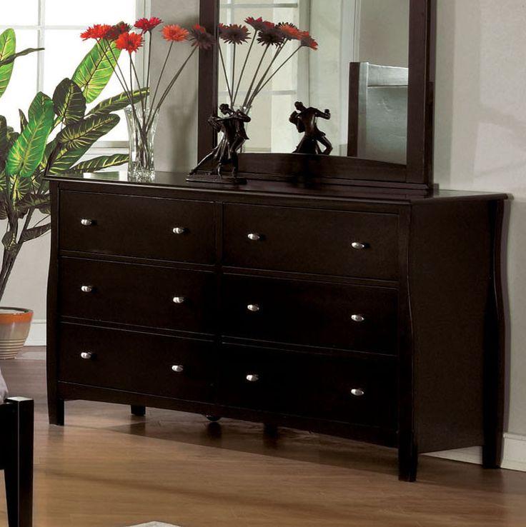 Transitional Style Bedroom Furniture: Furniture Of America Kalvin Transitional Style Dresser