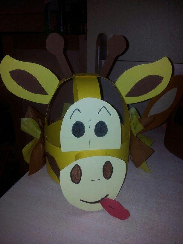 Giraf verjaardagsmuts #Danique