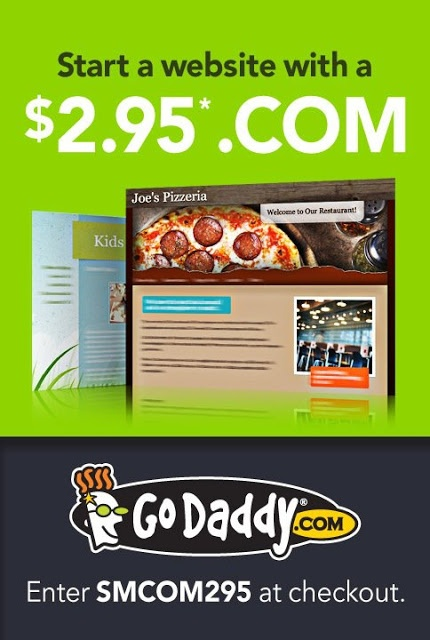 83 best godaddy coupon code images on pinterest coupon coupons discount godaddy only 295 for domain name smcom295 fandeluxe Choice Image
