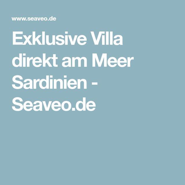 Exklusive Villa direkt am Meer Sardinien - Seaveo.de